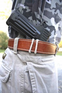 The OSS String Holster is an interesting and effective way to carry a handgun concealed.