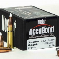 What can you kill with a 125 gr. Nosler Accubond in .30 caliber? Lots of things if you put it in the right spot.