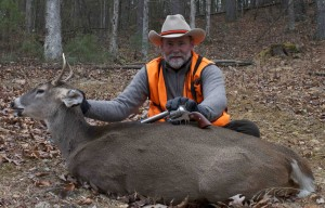 Is 400 foot-pounds of energy enough to kill a whitetail? Apparently!