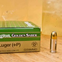 Remington Golden Saber 9mm 124 gr. +P