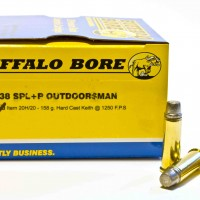 Buffalo Bore .38 Spl. Outdoorsman
