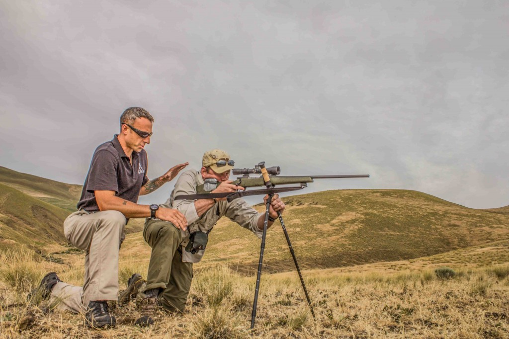 Training to shoot at long range is a good thing; it will give you more confidence to take the more logical shots.