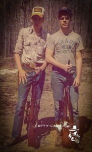 Cactus Jack said get a .270. I did (that's me on the left) but it was a bit much for groundhogs!