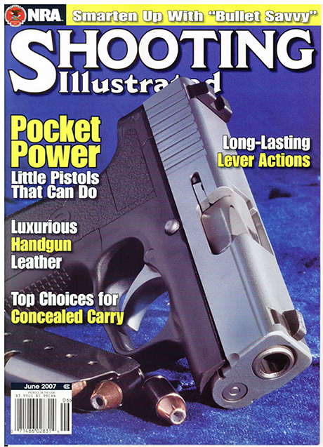 c6ba4c8928f The first bullet column to appear in a firearms magazine was published in  the June 2007 issue of Shooting Illustrated.
