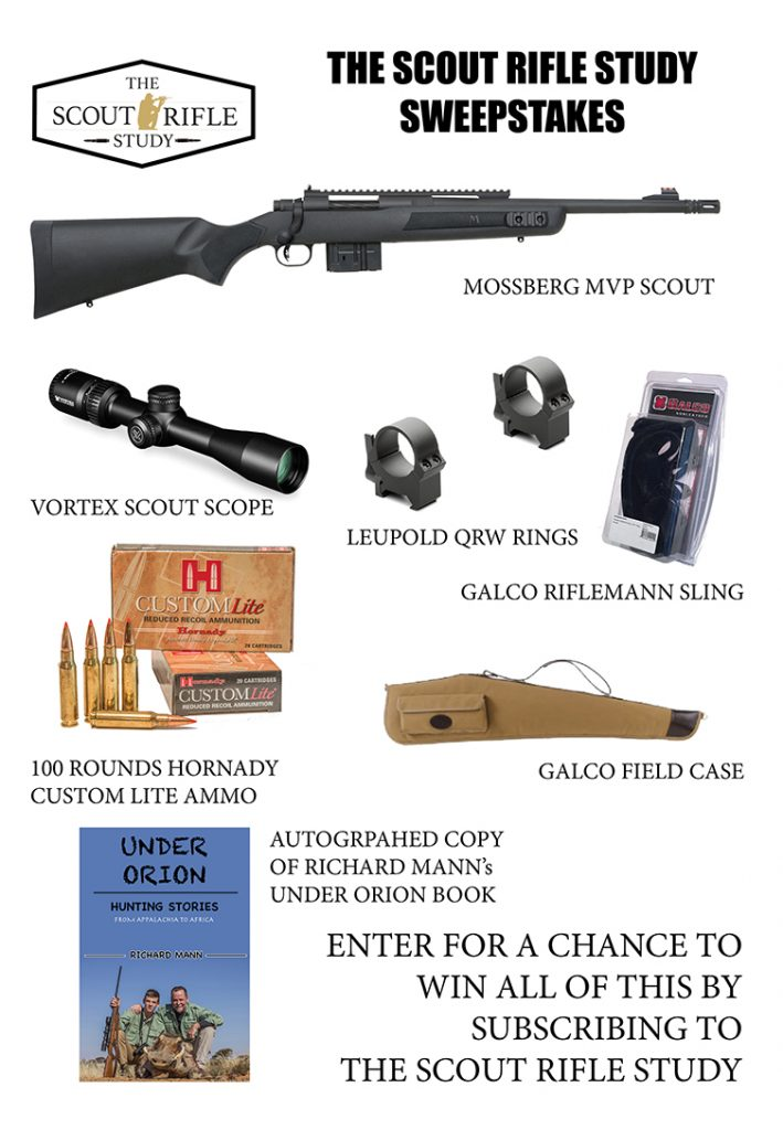 sweepstakes by mail the scout rifle study sweepstakes subscribe and win 4017