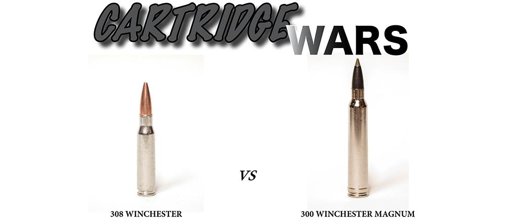 CARTRIDGE WARS: 308 Winchester versus 300 Winchester Magnum